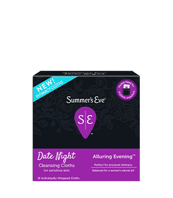 Summer's Eve Date Night Cleansing Cloths